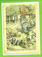 Cpm Politique Jean JAURES Truffes Truffe Tartufo Truffle Humour Humoristique Anti-socialiste Illustrateur LEMOT Achille - Satirical