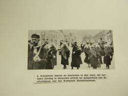 """Origineel Knipsel ( E 96 ) Uit Tijdschrift """" Ons Volk """" 1937 :  Herentals - Non Classés"""