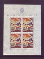 San Marino 1965 - Aerei Moderni, BF 26 MNH** - Blocchi & Foglietti