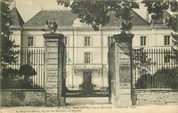 79 CHEF-BOUTONNE. Hôtel De Ville 1915 - Chef Boutonne