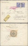 Austria - Einschreiben Brief. Siegelmarke 'K.u.K. Territorialzensurkommission Graz' 1916, To Hengelo, Netherlands. (II) - Covers & Documents