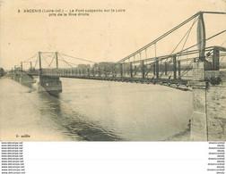 WW 44 ANCENIS. Pont Suspendu 1922 - Ancenis