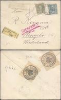 Austria - Einschreiben Brief. Siegelmarke 'K.u.K. Territorialzensurkommission Graz' 1916, To Hengelo, Netherlands. - Covers & Documents