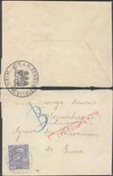 Austria - Red Cross Cover, Censored, K.u.K. Zensurstelle Wien 1916 - Copenhagen, Denmark. - Covers & Documents