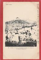Corée - Séoul -Groupe De Coréens Attendant Le Passage Du Cortège De Sa Majesté L'empereur - Korea, South