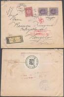 Austria - Einschreiben Brief. Siegelmarke 'K.u.K. Territorialzensurkommission Wien' 1917, To Hengelo, Netherlands. - Covers & Documents