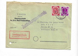 Brief Aus Bad Salzuflen 1954 - Covers & Documents