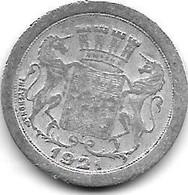 *amiens 5 Centimes  1921   Alu 1 - Monetari / Di Necessità