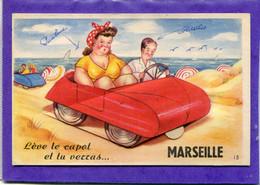 13  .MARSEILLE  , Carte  à  Système  , Multivues  . - Sonstige