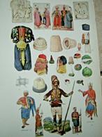 Livre Ancien 1956 Costume Patterns & Designs M. TILKE Couture Mode Mondial Rare Habit Du Monde - Arte