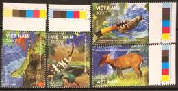 Viet Nam Vietnam MNH Perf Stamps 2018 : Animals Of Kon Ka Kinh National Park / Bird / Reptile / Insect (Ms1097) - Vietnam