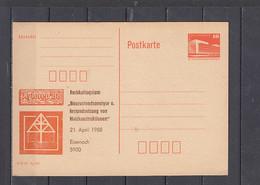 GERMANIA  Rep. Democratica   1988 .  Xylorep'88  - Postkarte - Privatpostkarten - Ungebraucht