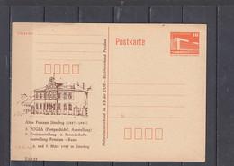 GERMANIA  Rep. Democratica   1989 .  Altes Postamt Juterbog  - Postkarte - Privatpostkarten - Ungebraucht