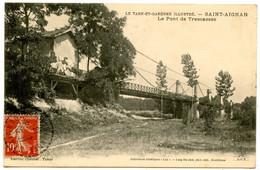 Saint-Aignan - Le Pont De Trescassés - Voir Scan - Autres Communes