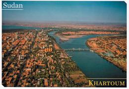 1 AK Sudan * Blick Auf Die Hauptstadt Khartum - Luftbildaufnahme * - Sudan