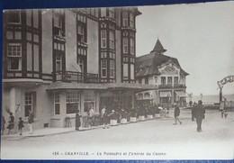 50 Manche CPA Granville La Potinière Et L'entrée Du Casino   1950 - Granville