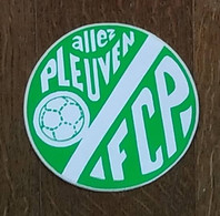AUTOCOLLANT  STICKER - FCP - FOOTBALL CLUB PLEUVEN  - SPORT - CLUB SPORTIF - FINISTÈRE BRETAGNE - Autocollants