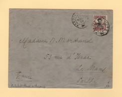 Canton - Ambulant Hanoi A Haipong - 1926 - Briefe U. Dokumente
