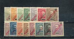 Zambèze 1911 Yt 55-69 * - Zambezië