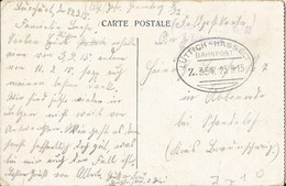 "20 005 Ak Anvers Bahnpost ""LÜTTICH-HASSELT"" 1915 - Ocupación 1914 – 18"