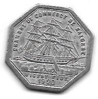 Bayonne  10 Centimes  1920 Alu 3 - Monetari / Di Necessità