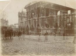 PHOTO ANCIENNE - 30 GARD NIMES PHOTOMONTAGE LES ARENES LA MAISON CARREE - Nîmes