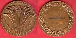 ** MEDAILLE  FLORALIES  INTERNATIONALES  PARIS  1959 ** - Unclassified
