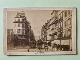 LE HAVRE La Rue De Paris Tram Métro Joseph Naegel Saverne (Zabern) - Andere