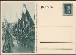 Germany 1933 - Postal Stationery Card, Ganzsache P 264. Military Parade. - Interi Postali