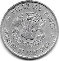 *monnaie De Necessite Blois 10 Centimes 1922  Alu  4 - Monetari / Di Necessità