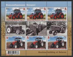 Weissrussland / Belarus / Biélorussie /BIAŁORUŚ 2021 MI.1409-10**,MA.1414-15,YVERT..  Tractors Belarus MNH ** - Belarus