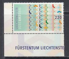 2020 Liechtenstein European Union EU EWR Complete Set Of 1 MNH - Ungebraucht