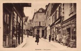 89 AUXERRE  CPA  Rue Joubert - Auxerre