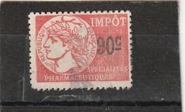 T.F Spécialités Pharmaceutiques N°10 - Revenue Stamps