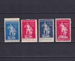 SWITZERLAND 1901/09, CINDERELLA, Tell-Aufführung In Altdorf, NG - Cinderellas