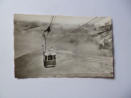 SAINT LARY   -  65  -  Arrivée Du Téléphérique à La Gare Supérieure    -  Hautes Pyrénées - Autres Communes