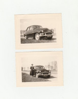 "2 PHOTO (10.5x8 Cm) VOITURE "" SIMCA"" IMMATRICULÉE 4090 TT75 - Automobili"