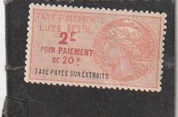 T.F Taxe Sur Les Paiements N°46 - Revenue Stamps
