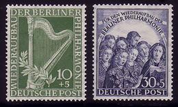 72-73 Philharmonie - Kompletter Satz Postfrisch ** - Zonder Classificatie
