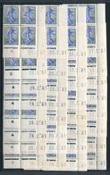 EC-369: FRANCE: Lot Avec Coins Datés** N°1234A (32, 6 Dates Différentes) - 1960-1969