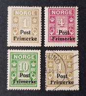Norvège - Norway - Norge, Timbre(s) Mh* & (O) - 1 Scan(s) - TB - 451 - Unclassified