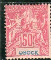 Obock: Année 1892  N°41** - Ongebruikt