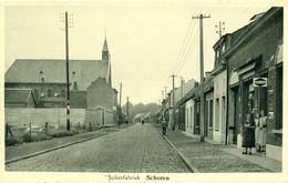 Schoten - Suikerfabriek - Winkel - Schoten
