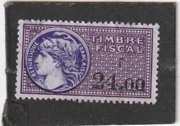 T.F.S.U N°414 - Revenue Stamps