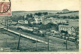 Vielsalm - Faubourg De La Station - Train - Trein Statie - Gare - 1946 - Vielsalm