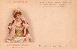 BISCUITS PERNOT - EXPOSITION UNIVERSELLE PARIS 1900 - 1 - Cartolina Francese - NON VIAGGIATA - Advertising