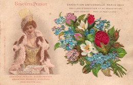 BISCUITS PERNOT - EXPOSITION UNIVERSELLE PARIS 1900 - 2 - Cartolina Francese - NON VIAGGIATA - Advertising