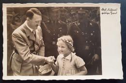 """Deutsches Reich, Postkarte Foto """"Des Führers Gütige Hand""""  BRÜNN - BRNO - Brieven En Documenten"""