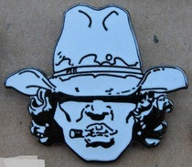 SAGGAY - TETE DE COW BOY - CHAPEAU SUR LES YEUX - CIGARETTE - GIRAUD  - EGF -      (21) - Fumetti