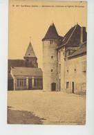LE BLANC - Intérieur Du Château Et Eglise Saint Cyran - Le Blanc